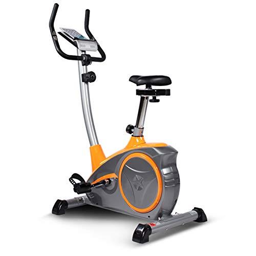 WKDZ Ciclismo Indoor Bicicleta Estática, Inicio Silenciosa La Pérdida de Peso Magnética Resistencia Ejercicio en Bicicleta, Asiento Ajustable