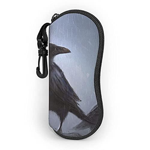 AOOEDM Ravens - Funda blanda para gafas de sol (neopreno), diseño de gafas