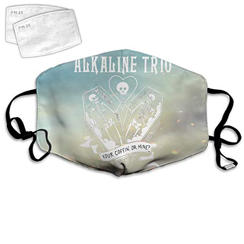 chengzi 3D Outdoor Cover,Alkaline Trio Cover Headdress Covers with 2Pcs Replaceable Parts Cotton Cover ChristmasStockingStuffer-one_Color-