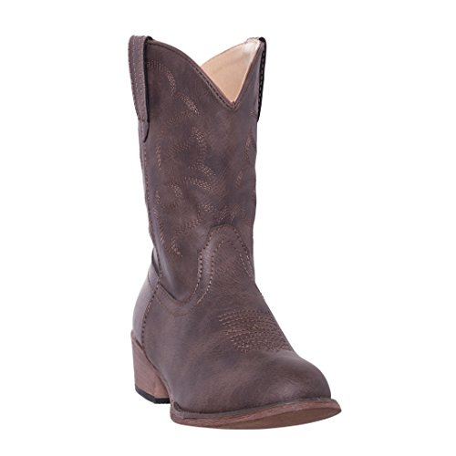 Kids Western Boots Girls Floral Cowgirl Cowboy Boot (1 Little Kid, Tan)