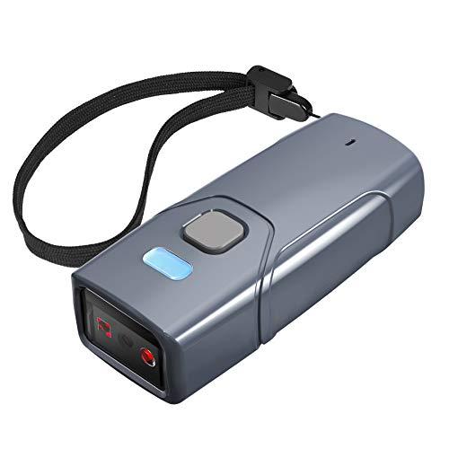 Inateck Wireless Barcode Scanner 2D, Bluetooth 5.0 QR Code Scanner, Tragbar Taschenscanner, 30m Reichweite, Scannen vom Bildschirm, BCST-40