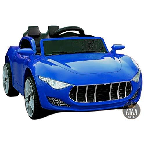 ATAA Elegant - Azul -Coches electricos para niños con Mando para Padres...