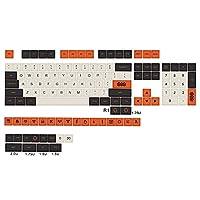 108キーメカニカルキーボード 122/134ピースの色の昇華PBTキーキャップの機械的なゲームキーボードのためのキーキャップバックライトXDAプロファイルキーキャップ (Axis Body : XDA profile keycaps, Color : 134 keycaps)