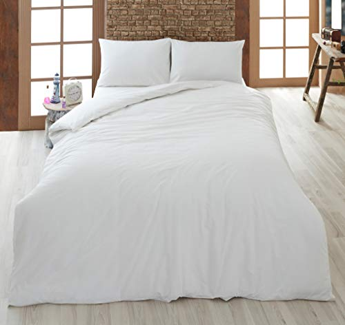 Linens World Deep Sleep Cotton Blend Duvets & Bed Quilts –1, 4.5, 7.5, 10, 13 & 15 Tog Soft & Huggable Range Bedding (1.0 Tog (Light Summer), Single)