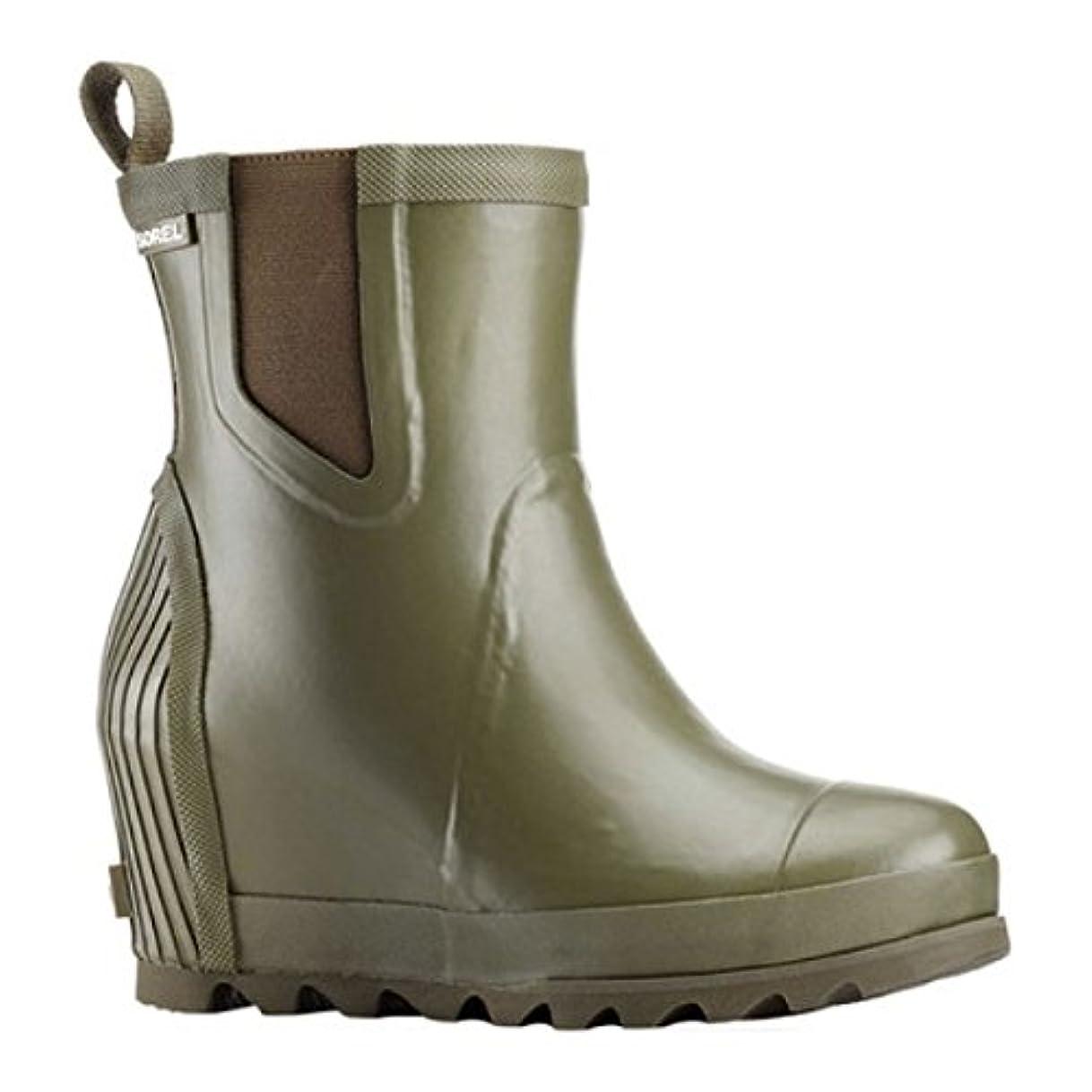 不倫アナニバーまた明日ね(ソレル) Sorel レディース シューズ?靴 ブーツ Joan Rain Wedge Chelsea Boot [並行輸入品]