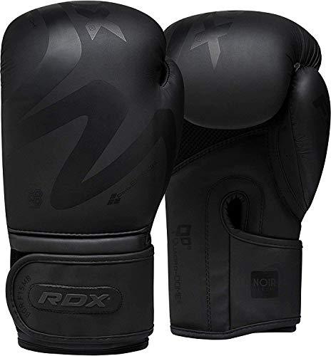 RDX Guantoni da Boxe Allenamento e Muay Thai Guanti da Combattimento in Pelle Convex per Sparring, Kickboxing Ideali per Cacciatori di Pugni, Sacchi da Boxe, guantoni da Boxe
