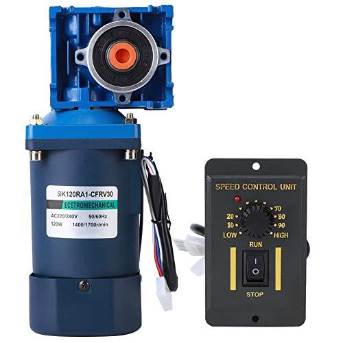 Motor de engranaje helicoidal AC220V, motor de engranaje helicoidal 120W AC 220V...