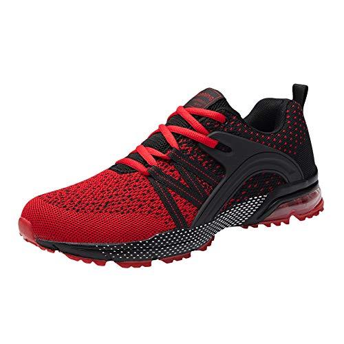 Zapatillas de Deporte Hombre Mujer Respirable para Correr Deportes Zapatos Running Calzado...