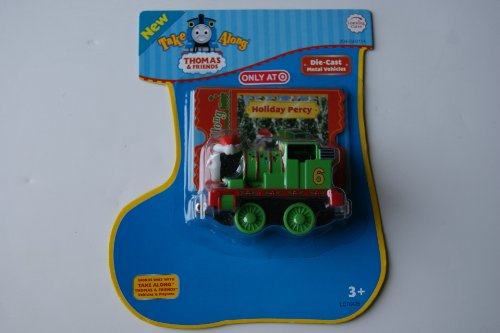 Thomas & Friends Die Cast Metal Vehicles Holiday Take Along Percy