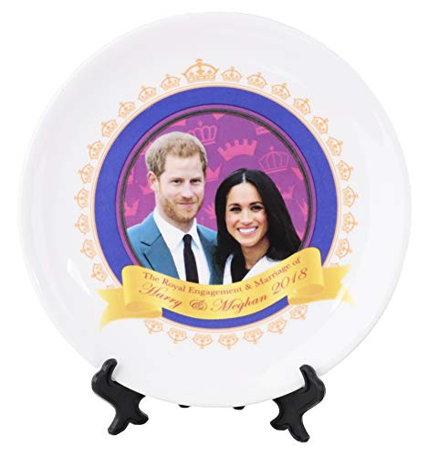 Toyland The Royal Engagement Of Harry and Meghan 2018 Commemorative Plate