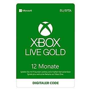 Xbox Live Gold: 12 Monate Mitgliedschaft