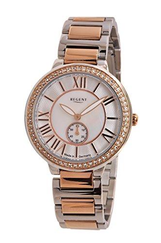 Regent Reloj Mujer Acero Inoxidable Reloj de Pulsera Modelo DM 8042