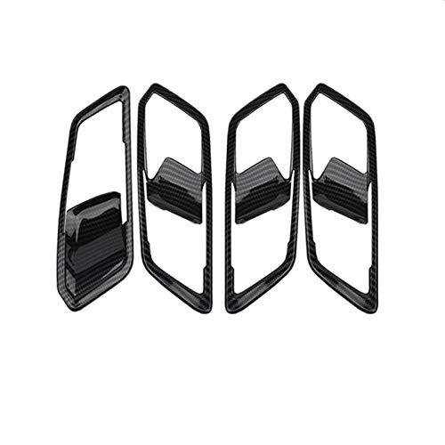 OutdoorKing Pannello del Cambio in Fibra di Carbonio Volante Pannello Cruscotto Decorazione Copertura Trim per BMW Serie 3 5 G20 G30 X3 G01 X4 G02 2019 2020 (Color : Handle Frame)