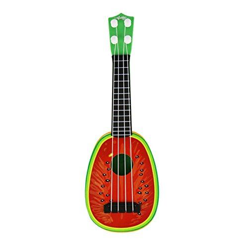URMAGIC Kinder Ukulele Mini Obst Gitarre Spielzeug - 4 Saiten Musical Kunststoff Instrument Spielzeug Ukulele Kleine Gitarre Musikinstrumente Lernspielzeug für Anfänger Kinder Kind