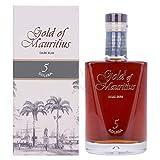 Gold of Mauritius 5 Solera Dark Rum 40,00% 0,70 Liter