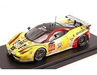 1/43 ルックスマート LSLM10 FERRARI 458 ITALIA JMW motorsports no.66 27th Le mans 2014 AL-FAISAL NEIMAN PUMPELLY フェラーリ