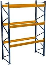 Palletrek rek voor zware lasten 7,50 m x 2,50 m (LxH) - 3 veld/rek belastbaar 2050 kg met 32 plaatsen