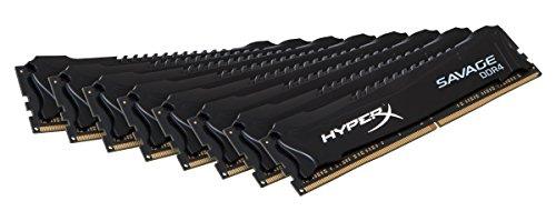 Kingston HyperX HX426C15SBK8/128 Savage XMP Arbeitsspeicher 128GB RAM (DDR4 CL15 DIMM Kit) schwarz