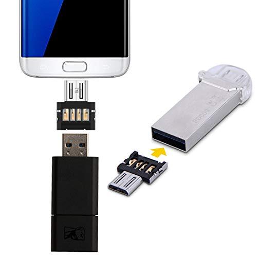CellphoneParts BZN Mini Style Android Style Micro USB OTG USB Lector de la Unidad, para Galaxy, Huawei, Xiaomi, LG, HTC y Otros teléfonos Inteligentes y tabletas Que admiten la función OTG