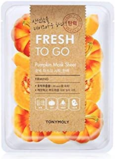Tonymoly Fresh To Go Pumpkin Mask Sheet, 25g