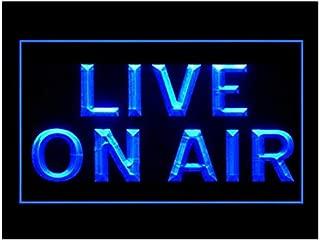 140131 Powerful Media Studio On Air Mic Life Display LED Light Sign