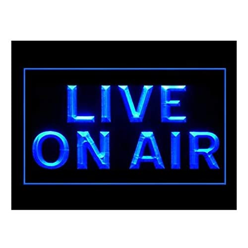 5d9ef3f4a780 Live On Air Studio Recording Display New Led Light Sign