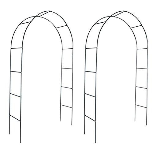 Arco de jardín 2 piezas Subiendo las plantas