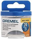 Dremel 426B Fiberglass Reinforced Cut-off Wheels, 1/32-Inch (0.8 mm) Wheel Diameter, Rotary Tool Cutting Disc Accessory, 20 Pieces