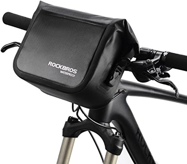 ROCKBROS 4L Waterproof Bicycle Sport Bag Outdoor Riding Cycling Front Tube Bike Pocket Shoulder Bag