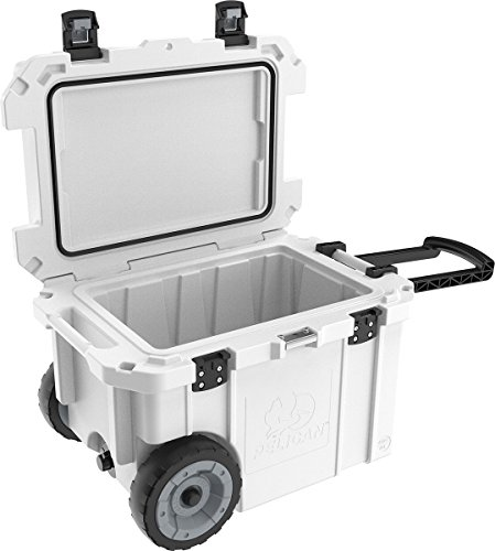 Pelican Elite 45 Quart Cooler (White)