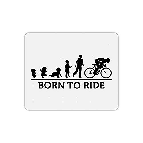 Mauspad Baby Entwicklung Fahrrad Text