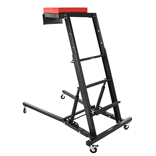 Topside Automotive Engine Creeper, Foldable Topside Junior Creeper Mechanic's Top Side Creeper - 440 LBS Capacity for auto Body Shop or Home Garage