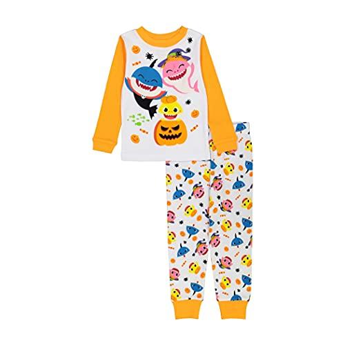 Nickelodeon Boys' Baby Seasonal Snug Fit Cotton Pajamas, Spooky Shark, 4T