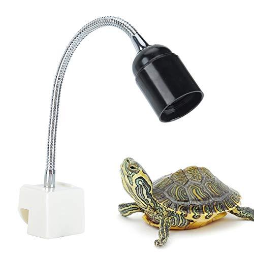 Portalámparas Calefactor, Foco para Reptiles de Acuario, In