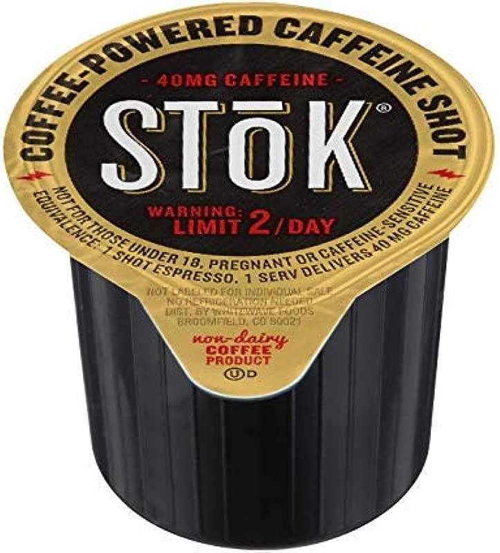 100 SToK Caffeinated Unsweetened Black Coffee Shots