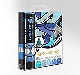 Chameleon Art Products - 5 Color Tops; Puntas de mezcla Chameleon; Tonos Azules