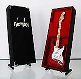 Miniature Guitare Réplique: Eric Clapton–Torino Rouge Strat Guitare–Modèle Mini Rock souvenirs Réplique Guitare Miniature en bois et gratuit support de présentation (vendeur britannique)