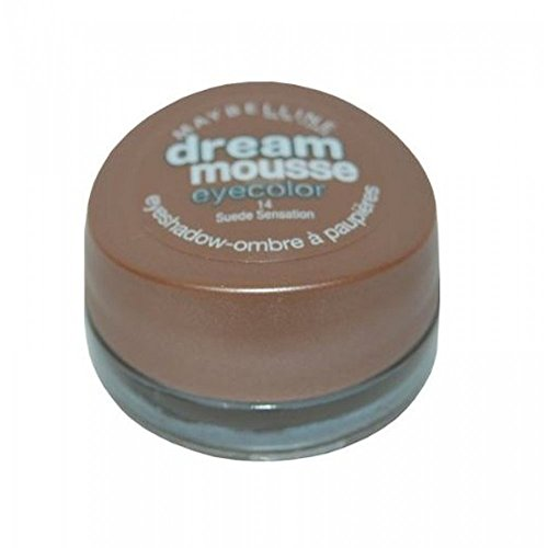 Maybelline New York Dream Mousse Eye Colour Eyeshadow-Ombre a Paupieres-14 Suede Sensation-NEW