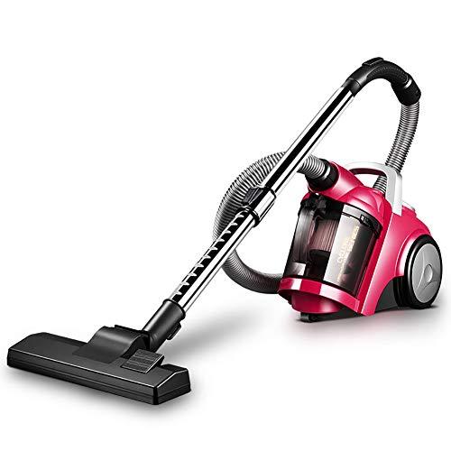 JXH De Mano Aspirador, Completa Turbo Power Pet sin Bolsa Cilindro Torbellino Vacuum Cleaner, 1400W aspiradora con 17Kpa Alta eficiencia del Motor,