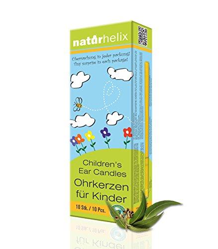 Naturhelix Kinder-Ohrkerzen mit Eukalyptus-Öl - 10er-Packung
