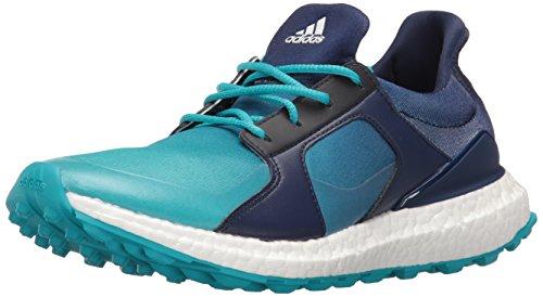 adidas Women's Climacross Boost Golf Shoe, Energy Blue, 7 M US