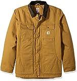 Carhartt mens Full Swing Traditional Coat Work Utility Outerwear, Carhartt Brown, Medium US