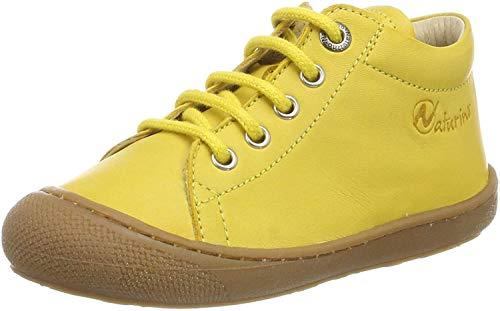 Naturino Cocoon, Zapatillas de Gimnasia Unisex niños, Amarillo (Giallo 0g04), 23 EU