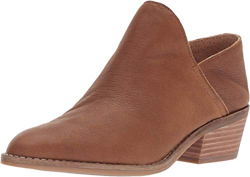 Lucky Brand Women's Fausst Ankle Boot, Cedar, 8 Medium US