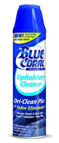 Blue Coral (DC22-6PK Dri-Clean Upholstery Cleaner with Odor Eliminator - 22.8 oz, (Pack of 6)