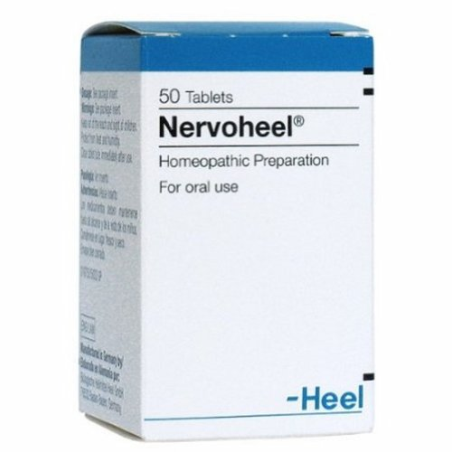 Nervoheel N 50 help relieve mood-based symptoms like nervousness,irritability by HEEL