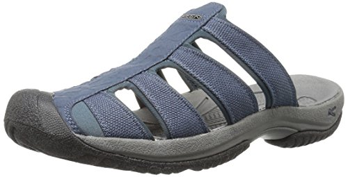 KEEN Men's Midnight Navy/Black, ARUBA II Sandals 8 D(M) US