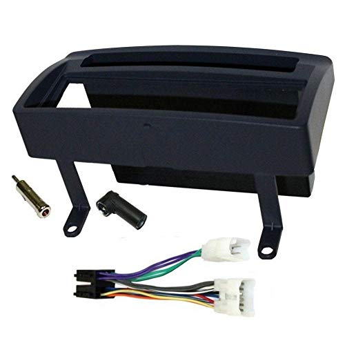 ADNAuto 11933 Kit Adaptateur Autoradio 1Din avec Vide-Poche Noir Ap01 + Iso + Fm-Kitfac139
