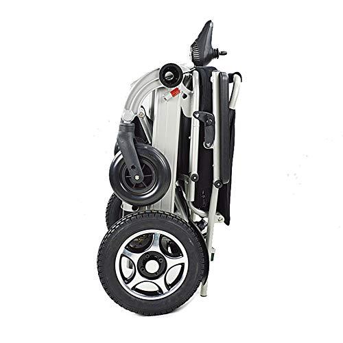 Leichteste Faltbare Power-Elektro-Rollstuhl, Outdoor-Medizinisch Faltbare Ältere Menschen Verwenden Manuelle Tragbare Rollstuhlfahrer