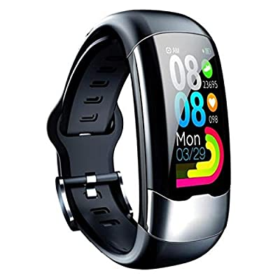 Fencia Fitness Activity Tracker Heart Rate Monitor Sleep Monitor Smart Sport Watch Step Counter Pedometer Calorie Counter IP67 Waterproof Health Monitor